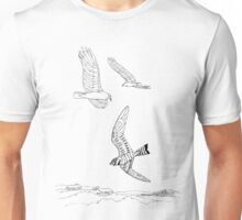 Crowded Skies.  Color Project.  Unisex T-Shirt