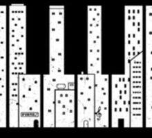 Piano City Sticker