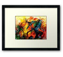 Autumn's Bright Spoil... Framed Print