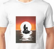 Little Mermaid Sunset Unisex T-Shirt