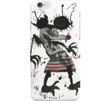 Mickey Mouse - Fear and Loathing - Ralph Steadman iPhone Case/Skin