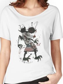 Mickey Mouse - Fear and Loathing - Ralph Steadman Women's Relaxed Fit T-Shirt
