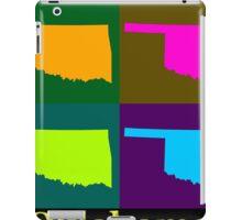 Colorful Oklahoma State Pop Art Map iPad Case/Skin