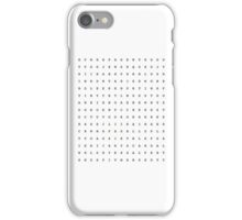 Word Search of My Favorite Shows iPhone Case/Skin