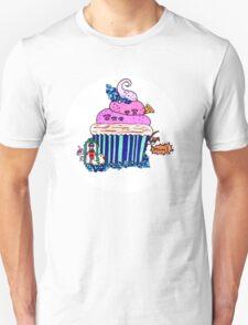 Emily Bett - Precious Unicorn Cupcake Unisex T-Shirt