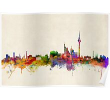 Berlin Skyline Germany Poster