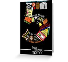 himym Barney Stinson Suit Up How I Met Your Mother Greeting Card