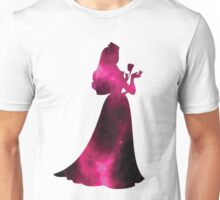 Sleeping Beauty Pink Galaxy Unisex T-Shirt