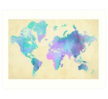 Colouring The World Art Print