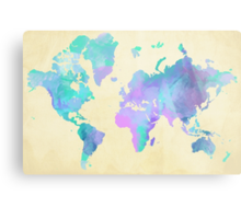 Colouring The World Metal Print