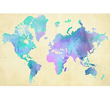 Colouring The World Photographic Print