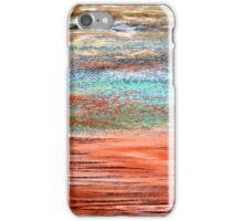 Tangerine Dusk - Oil Pastel iPhone Case/Skin