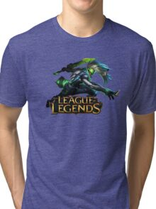 Project Ekko - League of Legends Tri-blend T-Shirt