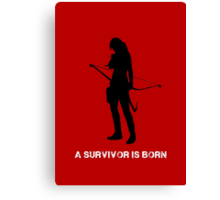 Tomb Raider - A Survivor is Born Canvas Print