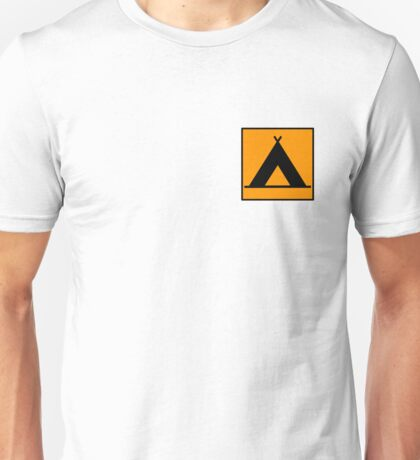 Campsite Symbol Unisex T-Shirt