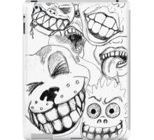 Sketchy Smiles iPad Case/Skin