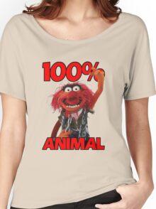 Muppets 100 Animal oder Geburtstagsgeschenk Women's Relaxed Fit T-Shirt