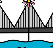 San Francisco (Be Sure To Wear Flowers In Your Hair) Sticker