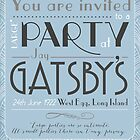 Party at Gatsby's Invitation by The Eighty-Sixth Floor