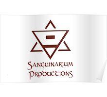Sanguinarium Productions Logo Poster