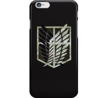 Scouting Legion ( vintage ) iPhone Case/Skin