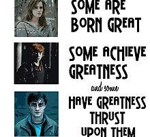 Harry Potter by aimeedraper