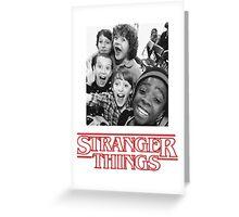 stranger kids Greeting Card