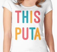 THIS PUTA Women's Fitted Scoop T-Shirt