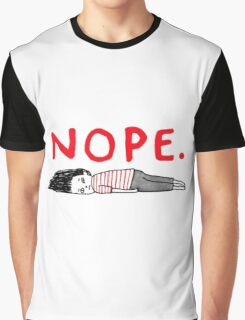 NOPE funny Graphic T-Shirt