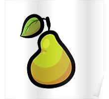 Fruit Punch! Pear Single Print Poster