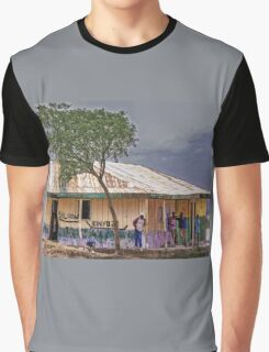 Saloon bar at Melelo, Kenya Graphic T-Shirt