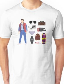 Back to the Future : Time Traveler Essentials 1985 Unisex T-Shirt