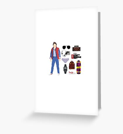 Back to the Future : Time Traveler Essentials 1985 Greeting Card