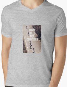 Bomb Hills Not Countries Mens V-Neck T-Shirt