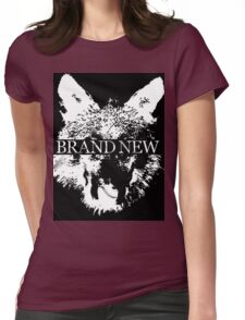 Brand New Animal Head Womens Fitted T-Shirt
