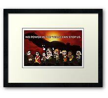 Star-enity 64 Framed Print