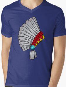 Indian Headdress Mens V-Neck T-Shirt