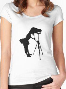Photographer Grrl Women's Fitted Scoop T-Shirt