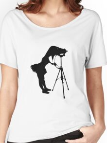 Photographer Grrl Women's Relaxed Fit T-Shirt