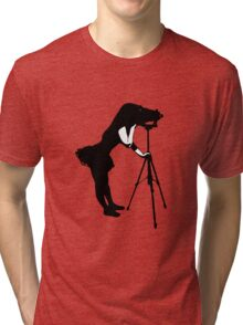 Photographer Grrl Tri-blend T-Shirt