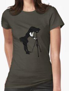Photographer Grrl Womens Fitted T-Shirt