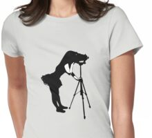 Photographer Grrl Womens Fitted T-Shirt