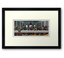 the last super Framed Print