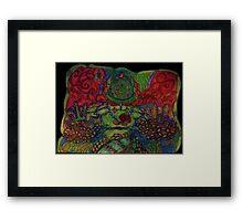 Ganja Guardian #8:Master {Real} Framed Print