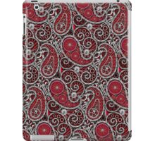 Pushie Paisley Pattern Chrome iPad Case/Skin
