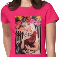 """""""Lady Spring"""" Womens Fitted T-Shirt"""