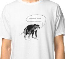 Squatting Slav Dog Classic T-Shirt