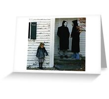 Brand New - The Devil and God Are Raging Inside Me Greeting Card