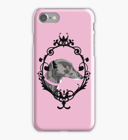 Greyhound Cameo iPhone Case/Skin