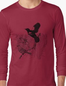 Wind in the Rushes. Color Project.  Long Sleeve T-Shirt